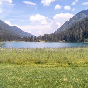not being there Tourist Destination Weissensee - the white lake of Carinthia